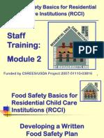 RCCI Staff Training- Module 2 8-4-2011