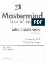 Mastermind Use of English - Mini Companion