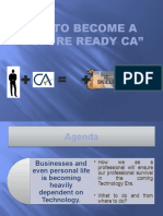 """HOW To be A Future Ready CA"" PPT"