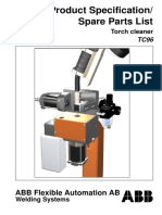 ABB torch cleaner