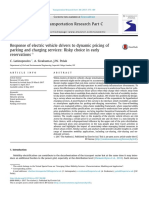 Response of Electric Vehicle Drivers to Dynamic Pr 2017 Transportation Resea
