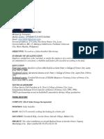 resume 0