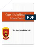 Chapter 4_Project Monitoring and Evaluation