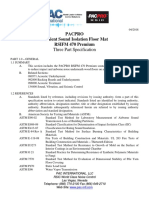 Three Part Specifications RSIFM 470