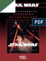Star Wars - D6 - Conversion - Starships of the Galaxy Saga Edition