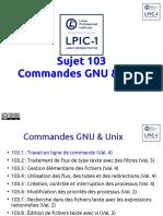 LPI101 103 1 CommandesGNU