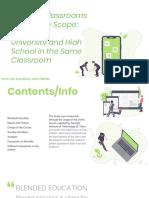 Blended Education - Presentation