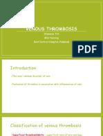 Venous Thrombosis