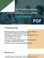 Chapter 21 22 Marketing JON JON MANUEL