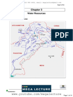 Water resources O level