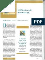 Aplicaciones Ergonomicas en el Mundo Ergonomia Psicosociologia