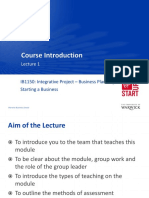 Lecture 1 Course Introduction