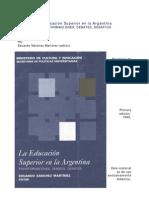 La Trans for Mac Ion de La Educacion Superior Argentina