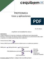 Proteomica usos y aplicaciones