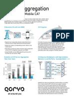 Qorvo Carrier Aggregation Brochure