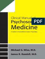 Clinical Manual of Psychosomatic Medicine.pdf
