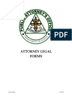 Attorney legal forms