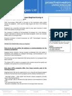 Proactiveinvestors UK - LWP Technologies Chairman Siegfried Konig in Proactive QA Sessions
