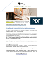 04 Dicas de Construção e Materiais