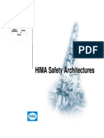 HIMA Safety Architectures