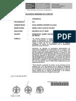 Pags 16-17, Sobre Interpretación Constitucional Por El Tap. Declaración de Unión de Hecho y Pensión de Viudez en El d. l. 20530