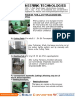 Aloe Vera -Process
