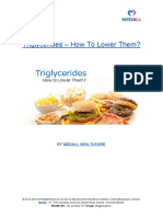 Triglycerides – How To Lower Them?