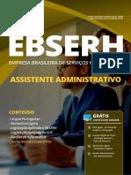 Ebserh - Assistente Administrativo 2019