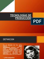 Tecnologías de Producción - Areanda