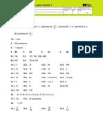 Ficha mini-teste matemática 5º ano soluções