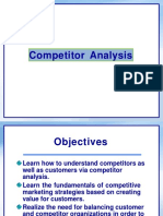 Competitor Analysis Class MBA PT
