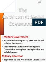 American Colonial Government