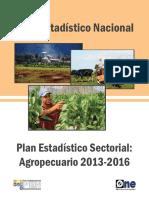 Plan Estadístico Sectorial