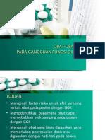 Obat-oatan Pada Gangguan Fungsi Ginjal