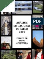 ANALISIS SITUACIONAL DE SALUD - PUESTO DE SALUD ATAHUALPA 2009