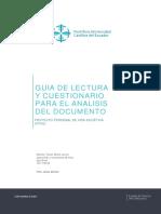 Guia de Lectura y Cuestionario Para El Analisis Documento.
