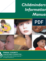 childminders' information manual