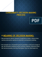 CONSUMER'S DECISION MAKING PROCESS [Autosaved] [Autosaved].pptx
