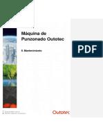 OUTOTEC - 8. P. Machine - Maintenance (Español)