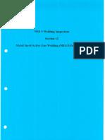 Section 12 Metal Inert-Active Gas Welding (MIG MAG GMAW)