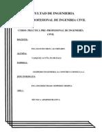 informe de practica pre-profesionales