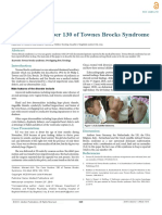 The Case Number 130 of Townes Brocks Syndrome