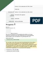 Examen Unidad 2 Constitución y Democracia. MARIA