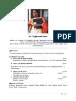 Pujarani Ghose-CV