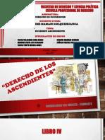 diapositivas sucesión de los ascendientes