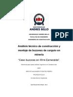 Construcción y Montaje de Buzones de Carguío en Minería (Parte1)