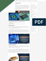 Processor vs. Microprocessor – Difference and Comparison – Diffzi