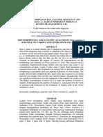 Analisis morfologi dan anatomi akar kayu apu (pistia stariotes L.) akibat pemberian berbagai konsentrasi kadmium (cd)