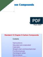 CARBON COMPOUNDS STD 9TH
