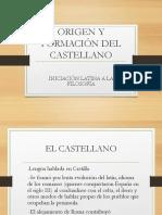 Orígenes y formación del castellano